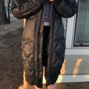Adidas by Stella McCartney Jackets & Coats - Knee length Stella McCartneyxAdidas Winter Jacket